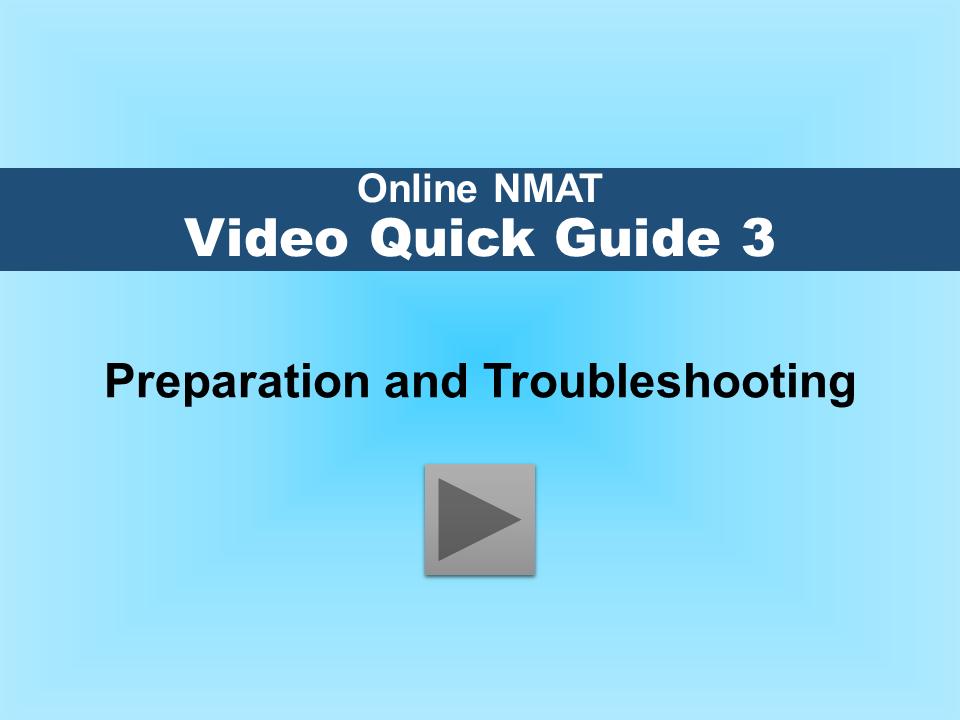 Tutorial Video Preparation