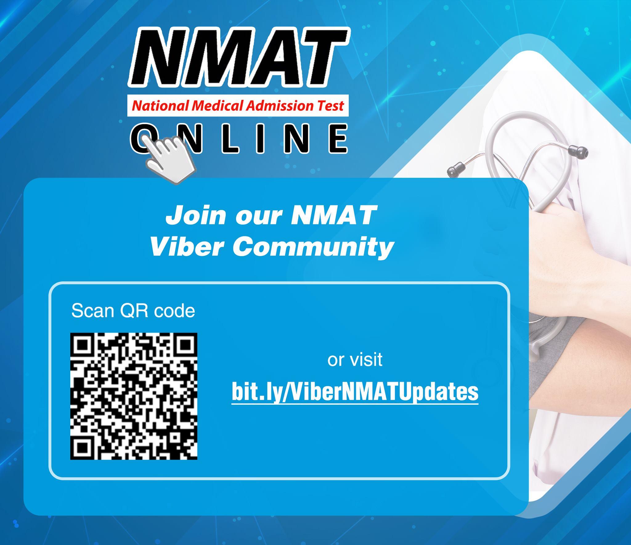 NMAT Viber community