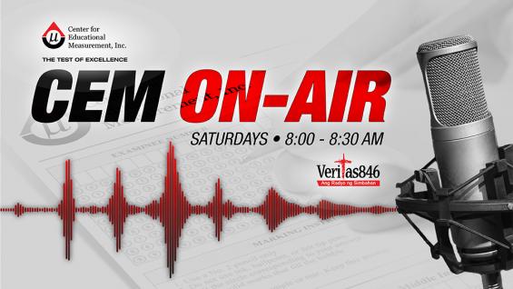 CEM On-Air on Radio Veritas 846 Kapanalig