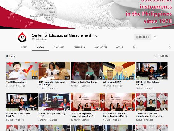 CEM YouTube channel - https://www.youtube.com/channel/UCZf4hOWP3YoQjVZTsK197ZQ