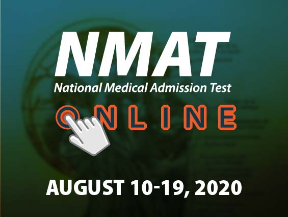 NMAT Online - First test administration