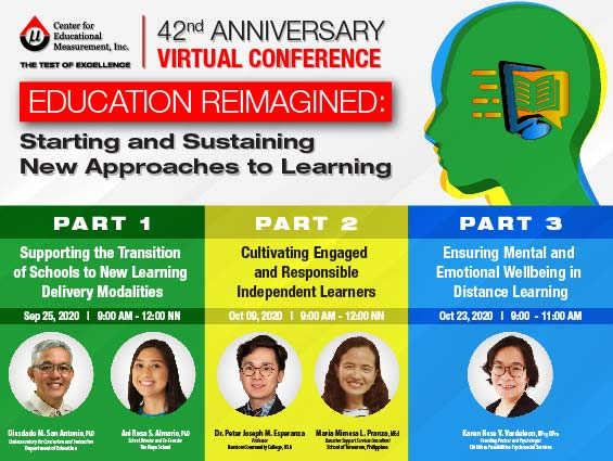 CEM 42nd Anniversary Virtual Conference - Education Reimagined: Starting and Sustaining New Approaches to Learning