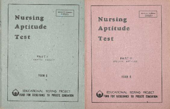 Nursing Aptitude Test