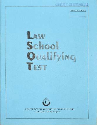 Law School Qualifying Test (LSQT)