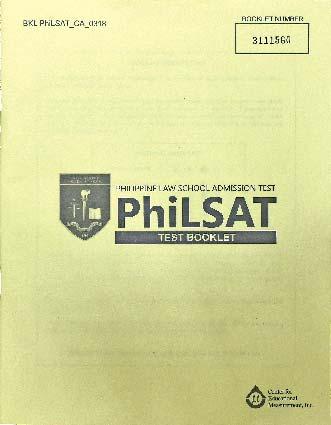Philippine Law School Admission Test (PhiLSAT)