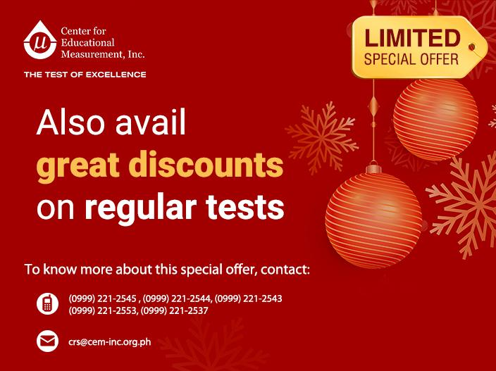 CEM Online Assessment Holiday Promo Bundles-Contact