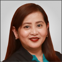 Maribel A. Montalbo - Administrative Services Section Head & Secretary to the Board