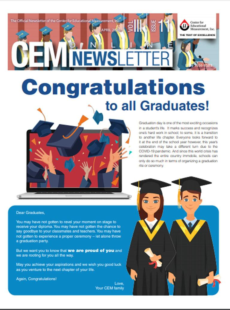 CEM Online Newsletter, Vol. III, Issue 11 (April 2020)