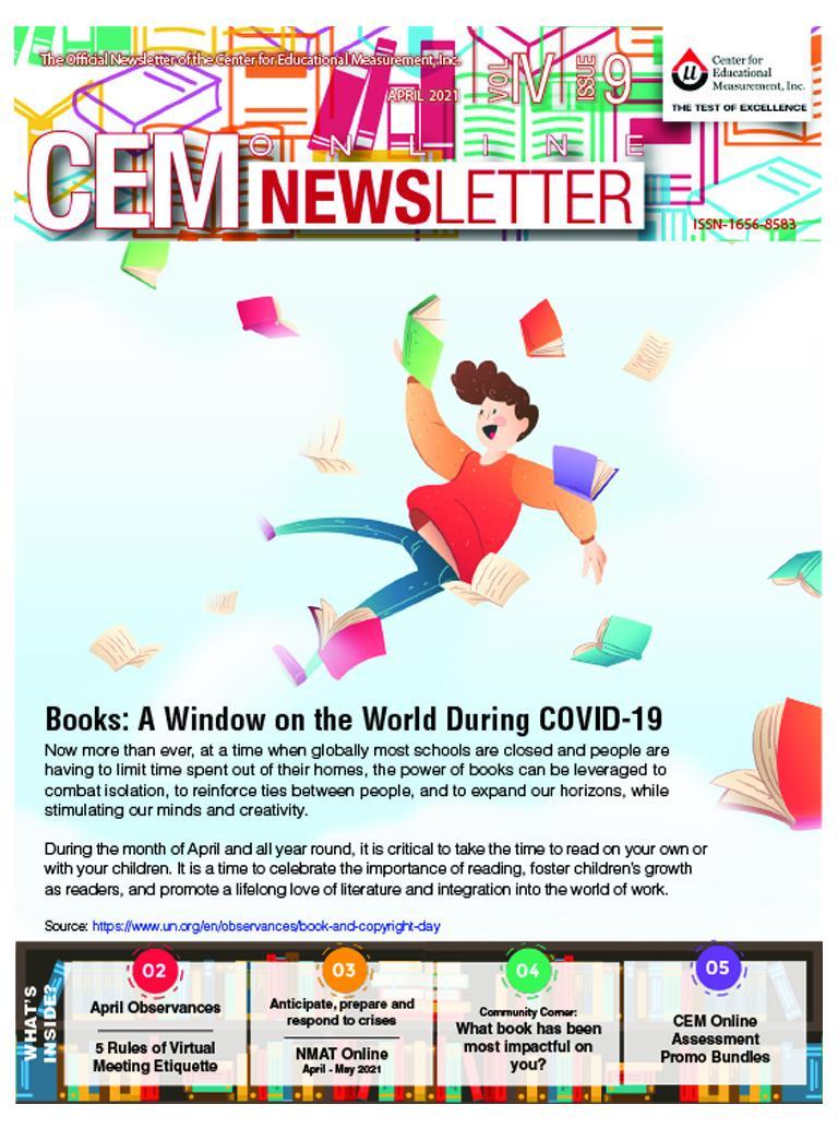 CEM Online Newsletter Vol. IV, Issue 09 - (April 2021)