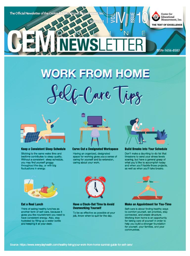 CEM Online Newsletter Vol. IV, Issue 10 - (May 2021)