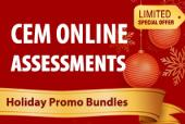 CEM Online Assessment Holiday Promo Bundles