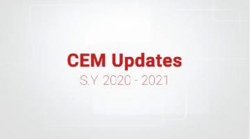 CEM Updates S.Y. 2020-2021